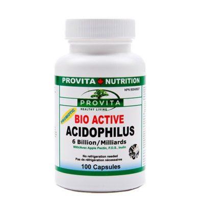 Bio-Active Acidophilus – 100 capsule